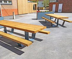 Pik Picnic tables just installed
