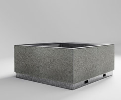HVM planter with granite cladding