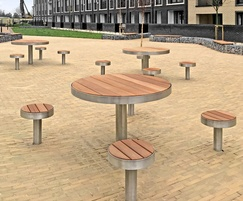 Tree tables at the Olympic park