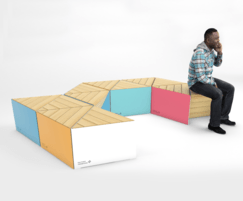 Factory Furniture: New modular seating for creating social spaces