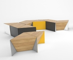 Sonobe outdoor seating modules
