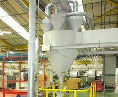 Plastic granulate handling