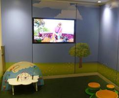 Younique® bespoke laminate covering children area
