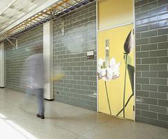 Younique® bespoke screen print laminate door