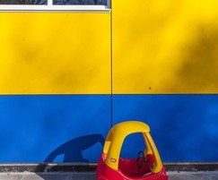 Colourful panels brighten up nursery