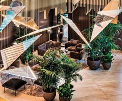 DecoMetal® was used in the foyer and VIP suites
