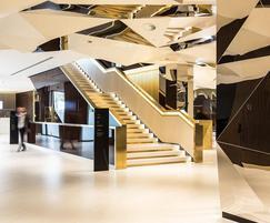 DecoMetal® laminates used for hotel refurbishment