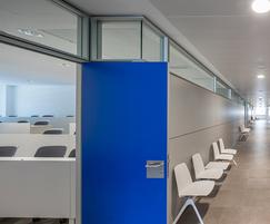 Formica laminate for university doors
