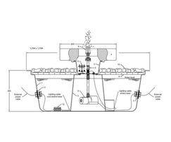 GSA1575M Millstone fountain kit