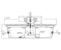 GSA2075M Millstone fountain kit