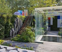 Fountains Direct: Water Features for The Mind's Eye RHS Chelsea garden