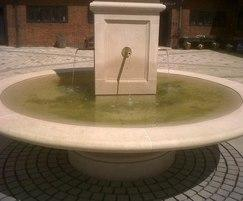 Traditional obelisk water feature for Hatfield House