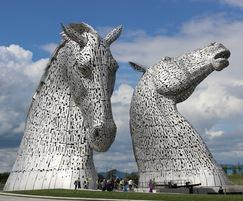 The Kelpies at The Helix, Falkirk