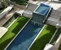 Water feature maintenance is tailored to requirements