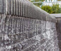 Waterwall water feature, Lisburn Town Centre