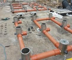 Water feature installation, Lisburn Town Centre