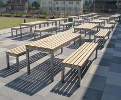 Parallel Table an bench
