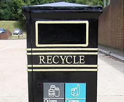 COV 722 Covent Garden cast iron recycling bin