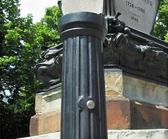 Doric major service bollard