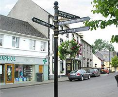 Guildford fingerpost signage, Donegal, Northern Ireland