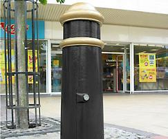 Cannon cast iron Major Service bollard