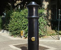 Cannon Service cast iron bollard