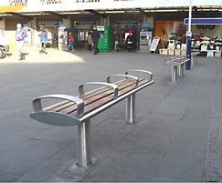 Zenith removable bench, Wimbledon regeneration
