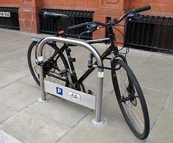 Transport TRL600 cycle stand,  Wimbledon regeneration