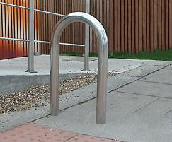 District galvanised stainless steel cycle stand