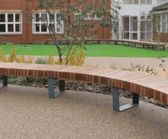 RailRoad benches offer flexible seating arrangements