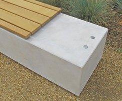 Fortis concrete plinth