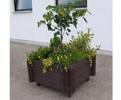 PER301 S Perth Square Recycled Plastic Planter
