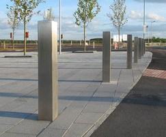 Eltham stainless steel bollards