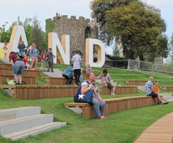 Furnitubes International: Ampitheatre seating for Dreamland Margate redevelopment