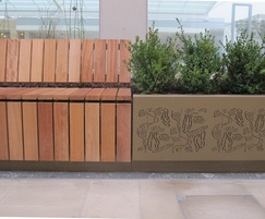 Vegetable Garden planter and seating