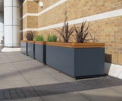 RailRoad planters - Westquay shopping centre