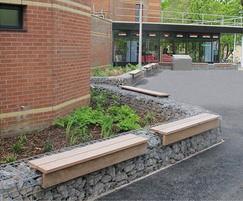 Lapa gabion seating platforms