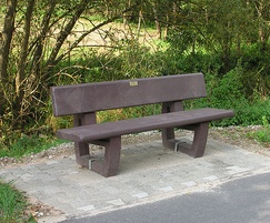 Aberdeen Recycled Plastic Seat