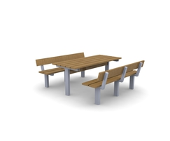 Plymouth picnic table