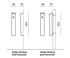 Ashby slimline drawing