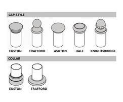 Linx 200 Railings Caps and Collar choices