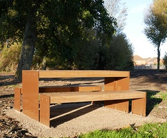Elements Picnic Table and Bench