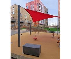 Blyth 1 metre solo unit concrete seating
