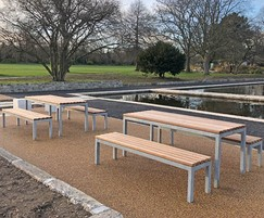 Parallel Picnic Benches & Tables