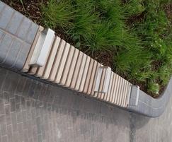 Bespoke Wall-top Bench