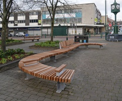 Seating solution for public realm