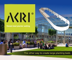 Akri®, the other way to create large planter beds