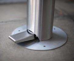 Zenith® foot pedal sanitiser dispenser