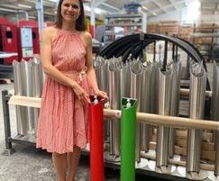 Furnitubes International: Touch-free sanitiser dispenser helps keep COVID-19 down