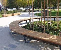 Bespoke curved and straight benches